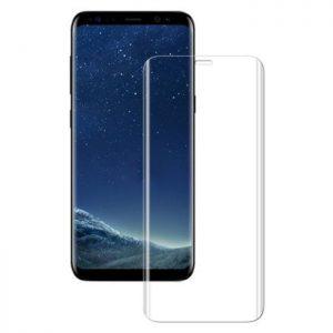 Защитное 3D стекло на весь экран для Samsung G950 Galaxy S8 (Прозрачное)
