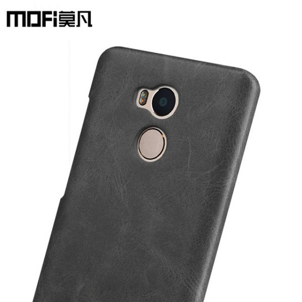 Пластиковая накладка бренда Mofi для Xiaomi Redmi 4 Pro/4 Prime (Black)