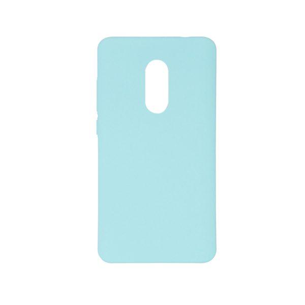 Пластиковая накладка soft-touch с защитой торцов Joyroom для Xiaomi Redmi Note 4 (MTK) (Мятный)