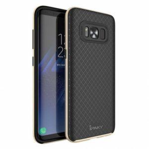 Чехол iPaky TPU+PC для Samsung G950 Galaxy S8 (Черный / Золотой)