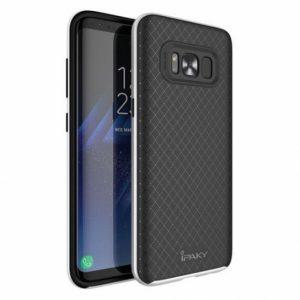 Чехол iPaky TPU+PC для Samsung G950 Galaxy S8 (Черный / Серебряный)