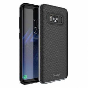 Чехол iPaky TPU+PC для Samsung G950 Galaxy S8 (Черный / Серый)