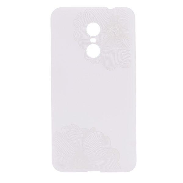 TPU чехол матовый soft touch для Xiaomi Redmi Note 4X / Note 4 (SD) Белые Маки