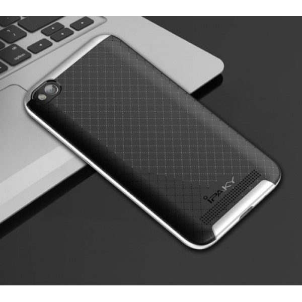 Чехол iPaky TPU+PC для Xiaomi Redmi 5A (Черный / Серебряный)