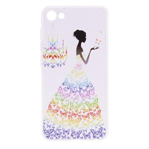 TPU чехол Cute Print для Meizu U10 (Girl (Butterfly dress))