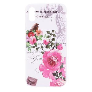 """TPU чехол OMEVE Pictures для Apple iPhone X (5.8"""") Butterfly"""