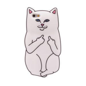 "Чехол F*ck Off Cat для Apple iPhone 6/6s (4.7"") Белый"