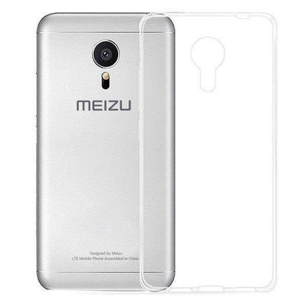 Защитный прозрачный силиконовый чехол  для Meizu M3 Note