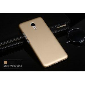 Защитный пластиковый золотой матовый чехол для Meizu M3/M3 mini/M3s