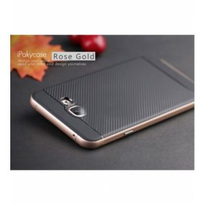 Чехол iPaky TPU+PC для Samsung A710F Galaxy A7 (2016) Черный / Rose Gold