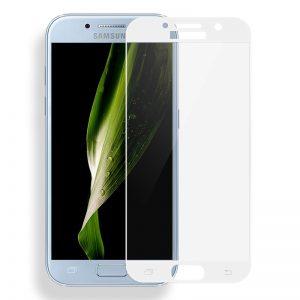 Защитное стекло 2.5D CP+ на весь экран (цветное) для Samsung A720 Galaxy A7 (2017) White
