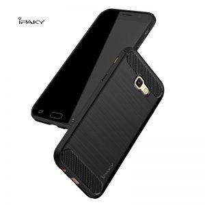 TPU чехол iPaky Slim Series для Samsung A720 Galaxy A7 (2017) Черный