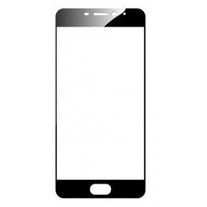 Защитное стекло 2.5D CP+ на весь экран (цветное) для Meizu M6 (Black)
