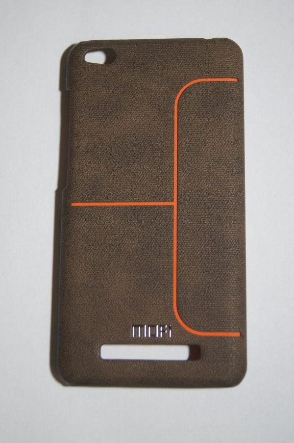 Пластиковая накладка бренда Mofi с плоской для Xiaomi Redmi 4A (Brown)