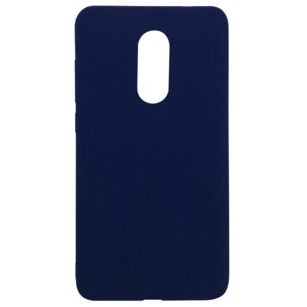 Силиконовый чехол для Xiaomi Redmi Note 4X / Note 4 (SD) Синий