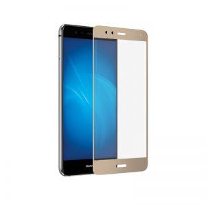 Защитное стекло 2,5d для Huawei P10 Lite (Gold)