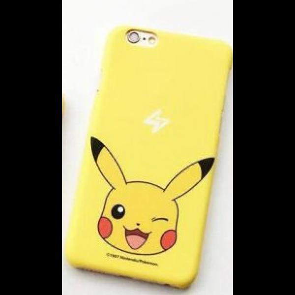 Силиконовый чехол Pikachu  для Iphone 6 / 6s Yellow