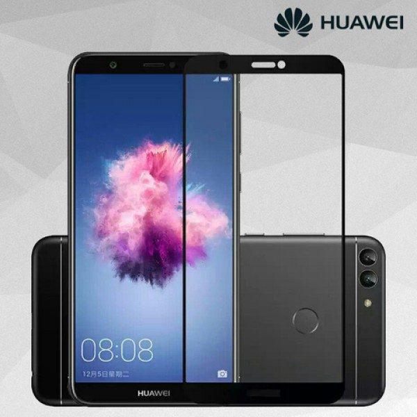 Защитное стекло 2.5D (на весь экран) для Huawei P Smart (Black)