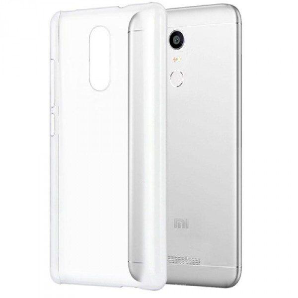 Защитный прозрачный силиконовый чехол для Xiaomi Redmi Note 4 / Note 4x