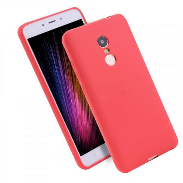 Силиконовый чехол Candy для Xiaomi Redmi 5 (Красный)