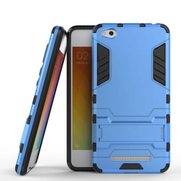 Ударопрочный чехол-подставка Transformer с мощной защитой корпуса для Xiaomi Redmi 4A (Blue)