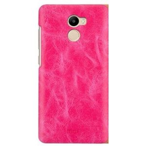 Пластиковая накладка бренда Mofi для Xiaomi Redmi 4 Black (Pink)