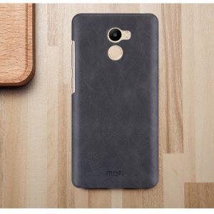Пластиковая накладка бренда Mofi для Xiaomi Redmi 4 Black (Черный)