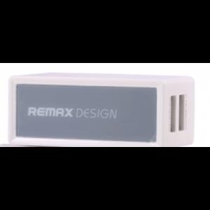 Сетевое ЗУ REMAX 2USB 1A / 2.1A + переходник US to EU (Белый / Серый)