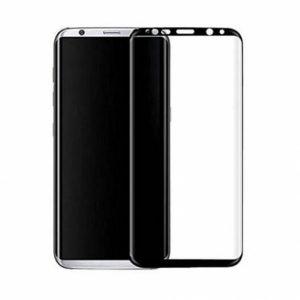Цветное защитное 3D стекло на весь экран для Samsung G955 Galaxy S8 Plus (Black)
