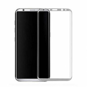 Защитное 3D стекло на весь экран для Samsung G950 Galaxy S8 (White)