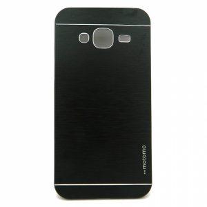 Металический бампер с акриловой вставкой с зеркальным покрытием для Samsunga Galaxy J5 2016 (SM-J510F) black