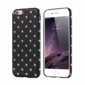 Чехол с имитацией кожи Stars для Iphone 6 / 6s (Black)