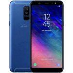 TPU чехол Carbon для Samsung A530 Galaxy A8 (2018) Black