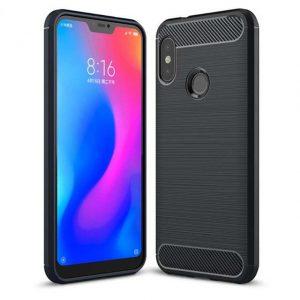 Черный силиконовый (TPU) чехол (накладка) Slim Series для Xiaomi Mi A2 Lite / Xiaomi Redmi 6 Pro (Black)