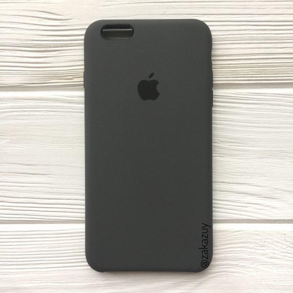 Оригинальный силиконовый чехол (Silicone case) для Iphone 6 Plus / 6s Plus (Grey) №3