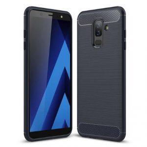 TPU чехол Slim Series для Samsung Galaxy A6 Plus (2018) Navy Blue