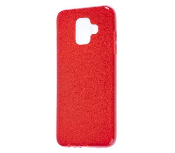 TPU чехол Shine для Samsung Galaxy A6 (2018) Red