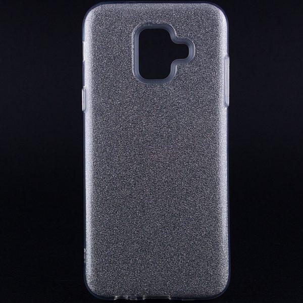 TPU чехол Shine для Samsung Galaxy A6 (2018) Silver