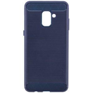 TPU чехол iPaky Slim Series для Samsung A730 Galaxy A8+ (2018) Navy