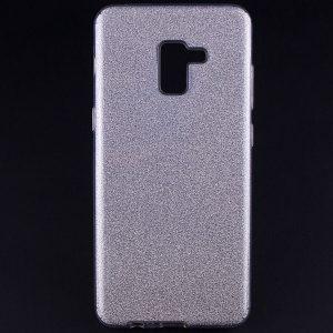 TPU чехол Shine для Samsung A730 Galaxy A8+ (2018) Серебряный