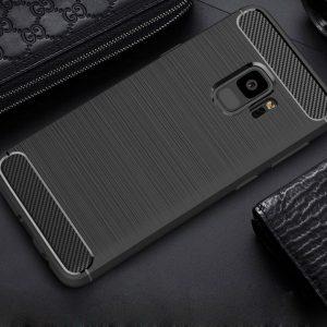 TPU чехол Slim Series для Samsung A730 Galaxy A8+ (2018) Black