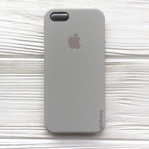 Оригинальный силиконовый чехол (Silicone case) для Iphone 5 / 5s / SE (Light Cocoa) №16