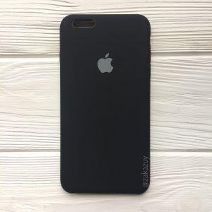 Оригинальный силиконовый чехол (Silicone case) для Iphone 6 / 6s (Black) №7