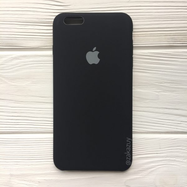 Оригинальный силиконовый чехол (Silicone case) для Iphone 6 Plus / 6s Plus (Black)