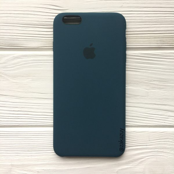 Оригинальный силиконовый чехол (Silicone case) для Iphone 6 Plus / 6s Plus (Corsair) №1