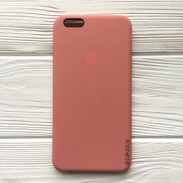 Оригинальный силиконовый чехол (Silicone case) для Iphone 6 Plus / 6s Plus (Flamingo)