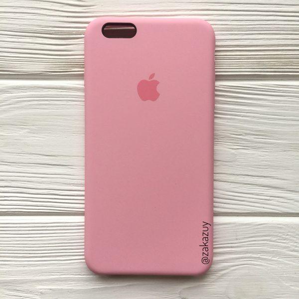 Оригинальный силиконовый чехол (Silicone case) для Iphone 6 Plus / 6s Plus (Pink)