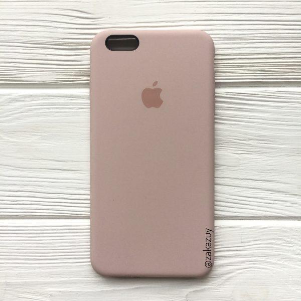 Оригинальный силиконовый чехол (Silicone case) для Iphone 6 Plus / 6s Plus (Powder)