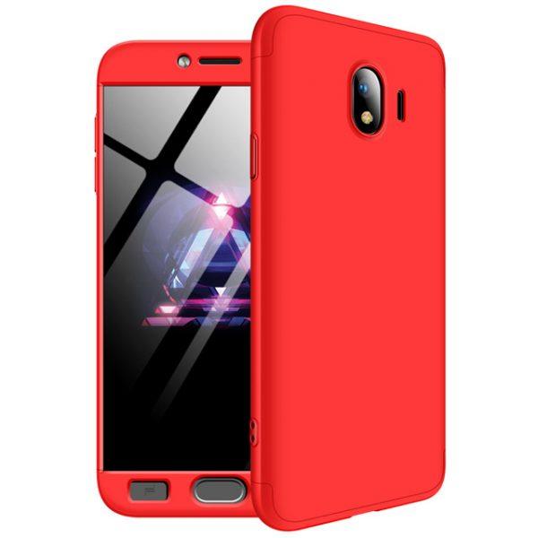 Пластиковая накладка 360 градусов для Samsung J400F Galaxy J4 (2018) (Red)