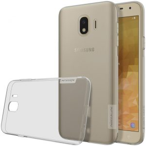 TPU чехол Nillkin Nature Series для Samsung J400F Galaxy J4 (2018) (Clear Grey)